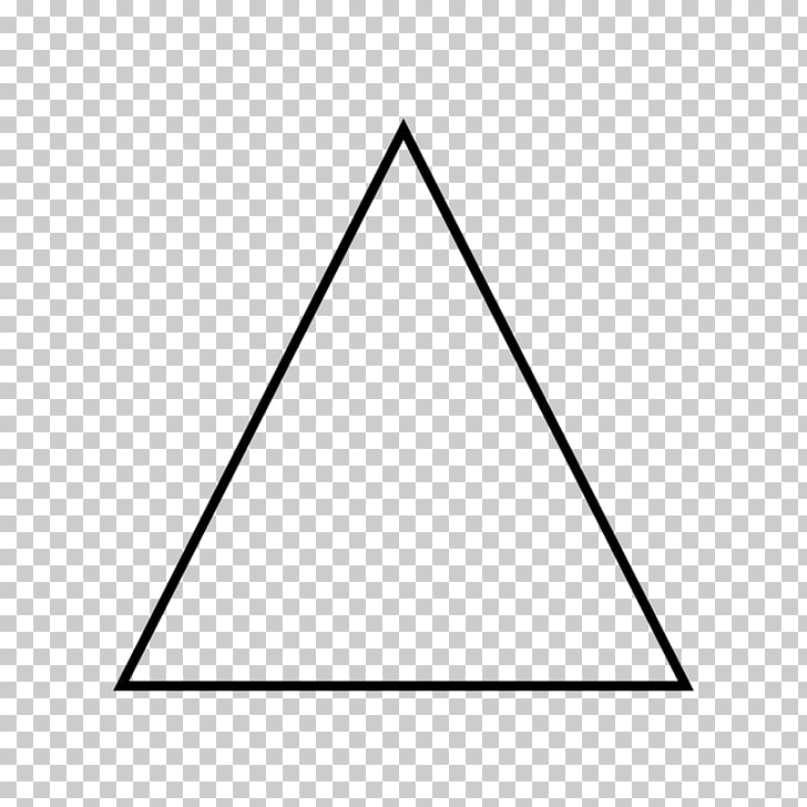 Equilateral triangle Geometry Shape , triangulo PNG clipart.