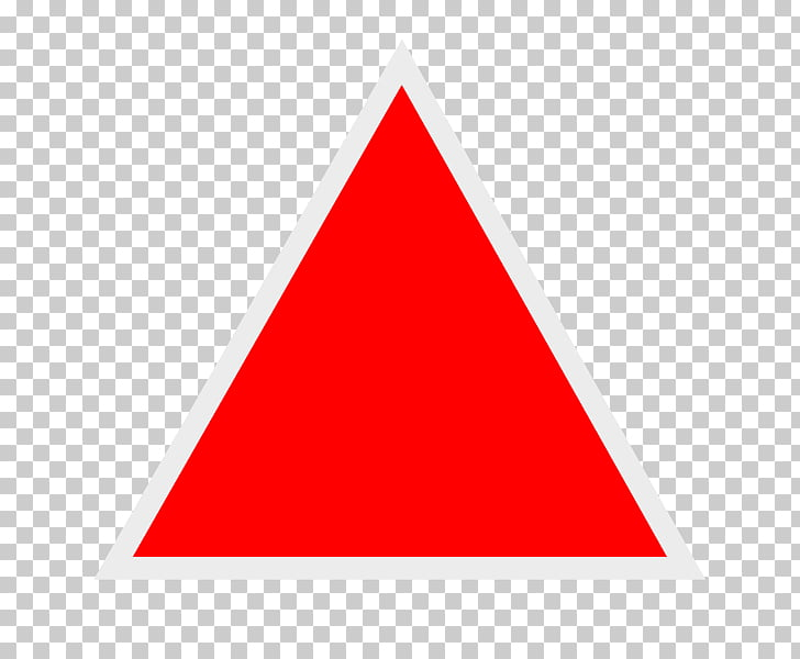Triangle Red , triangulo PNG clipart.