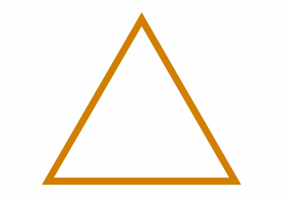 Triangulo Laranja Png , Png Download.