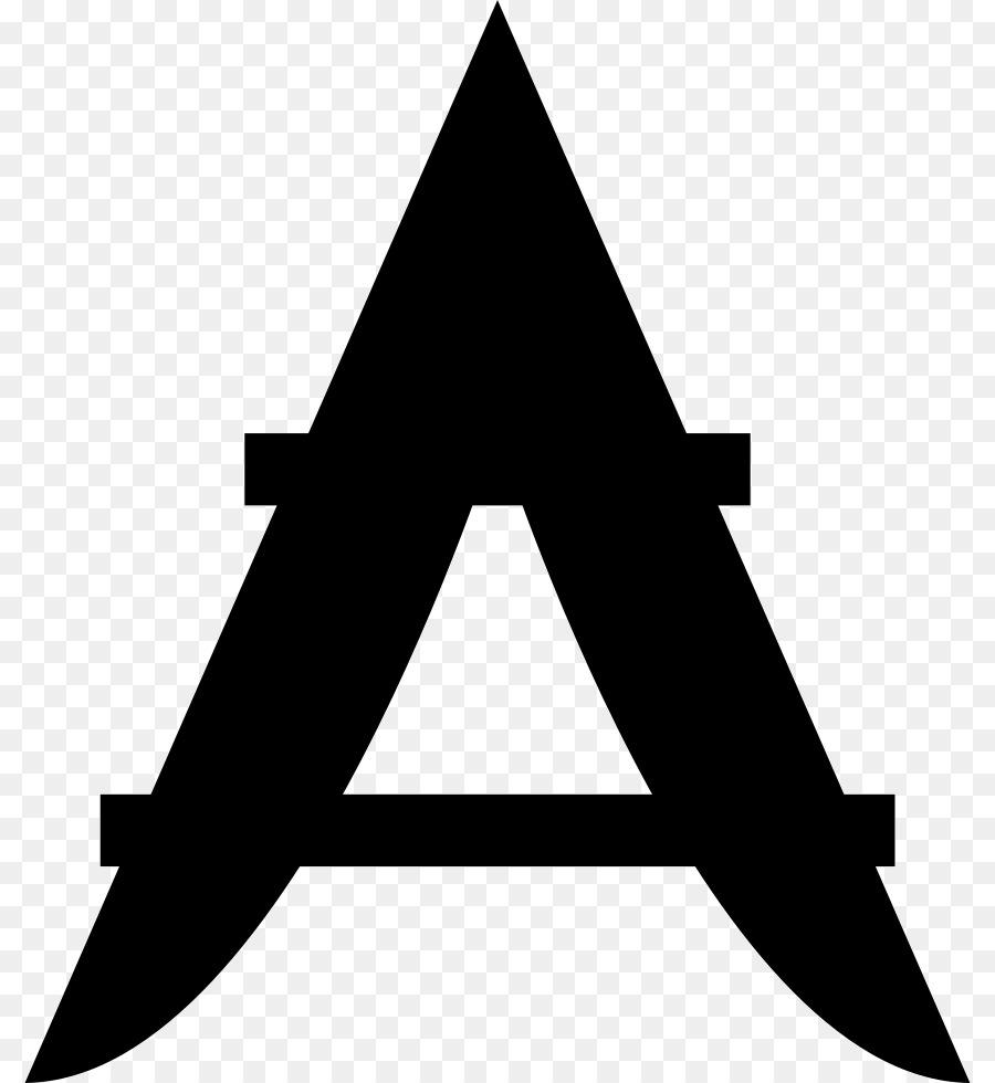 Triângulo, ângulo De, Preto M png transparente grátis.