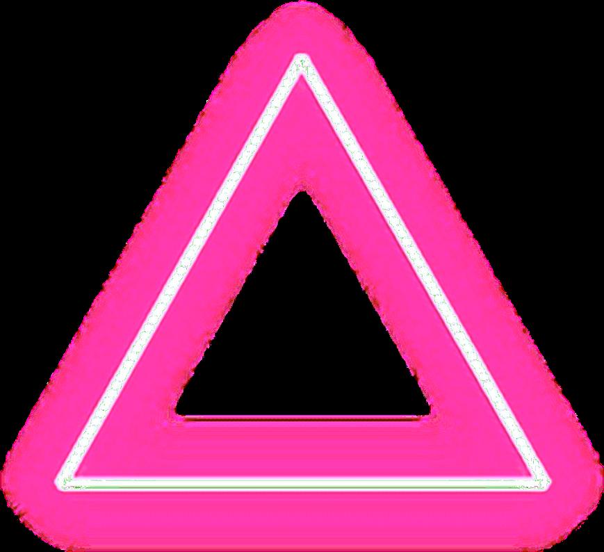triangulo tumblr neon.