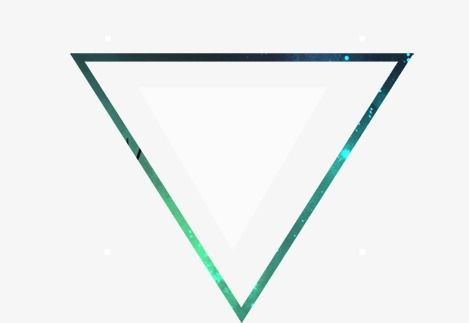Triangle Element, Triangle Clipart, Flat, Geometry PNG.