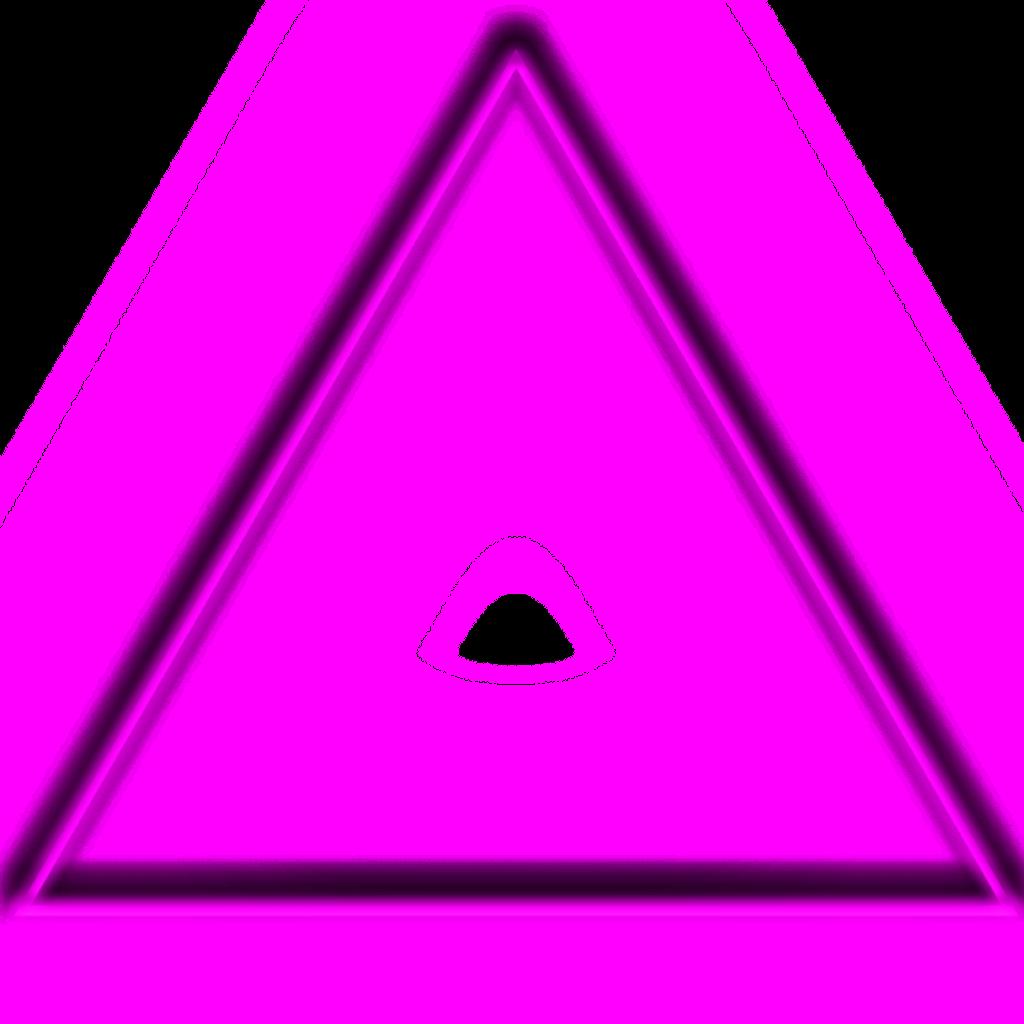 freetoedit triangulo neon tumblr.