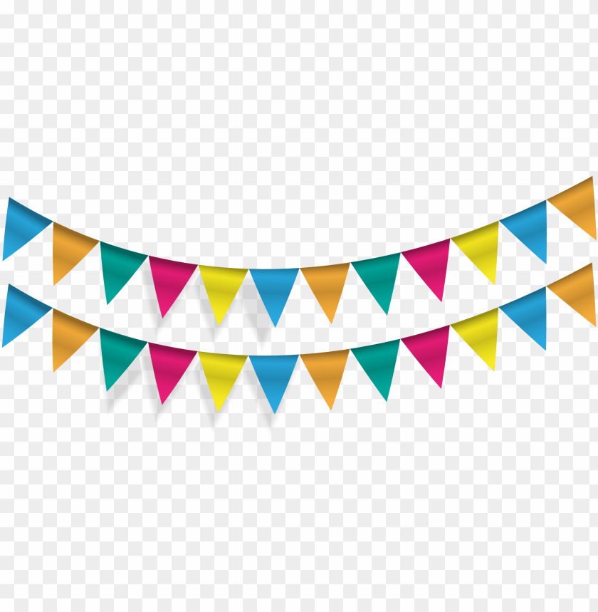 banner library pennon party bunting vector flags transprent.