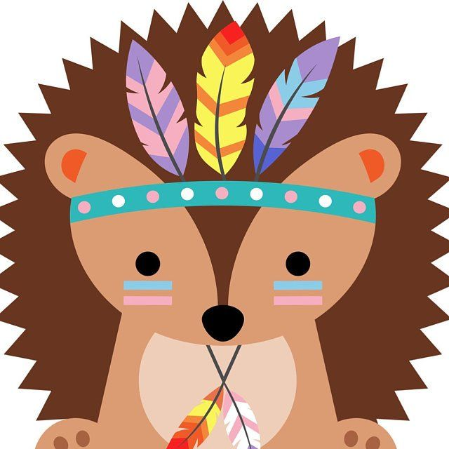 Tribal Animals Clipart.