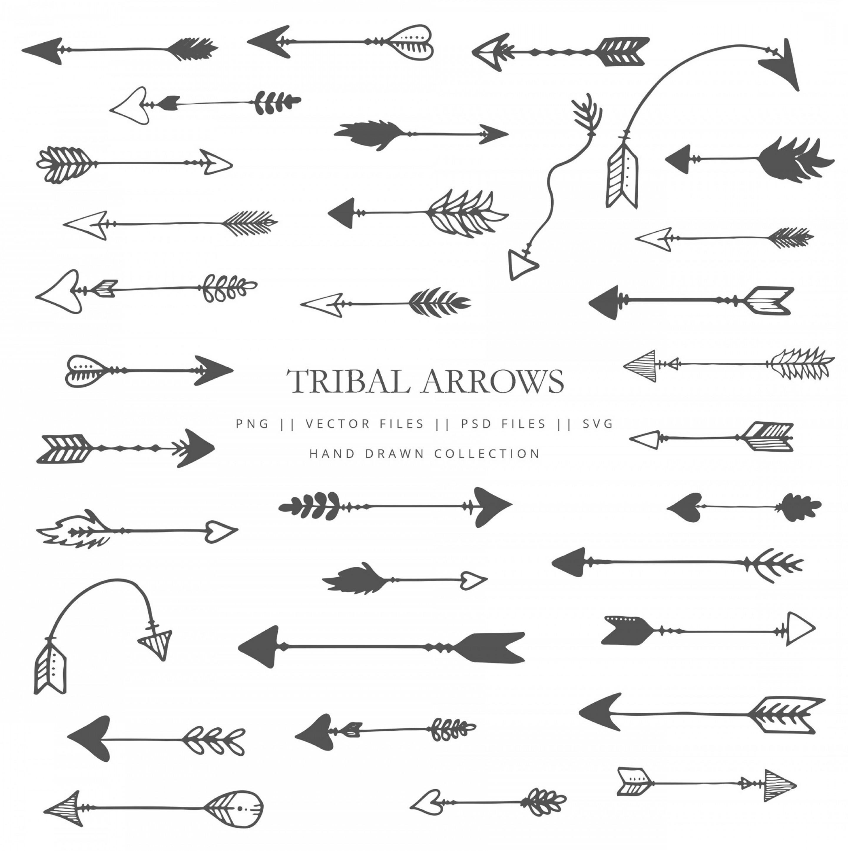 Clip Art With Tribal Arrows Arrow.
