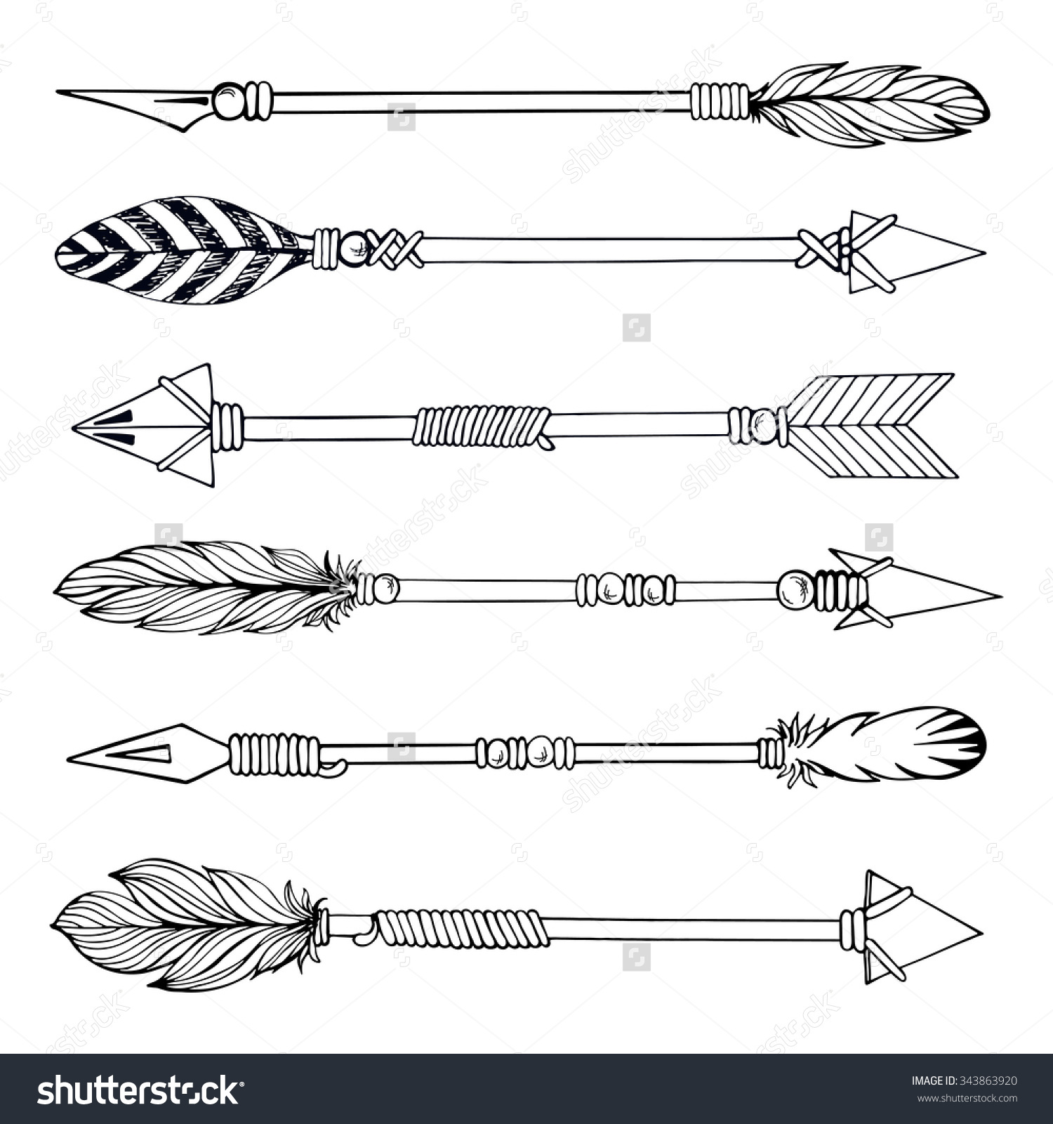 4468 Tribal free clipart.