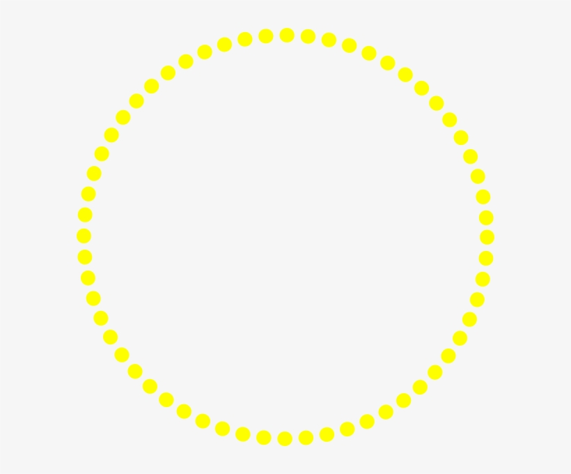 Dots Clipart Yellow.
