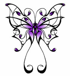 Free Tribal Butterfly Cliparts, Download Free Clip Art, Free.