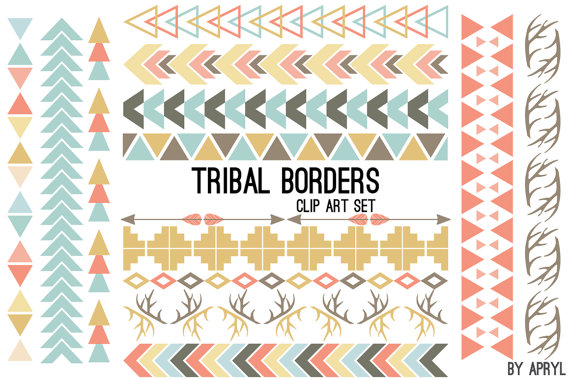 Tribal Pattern Clipart.