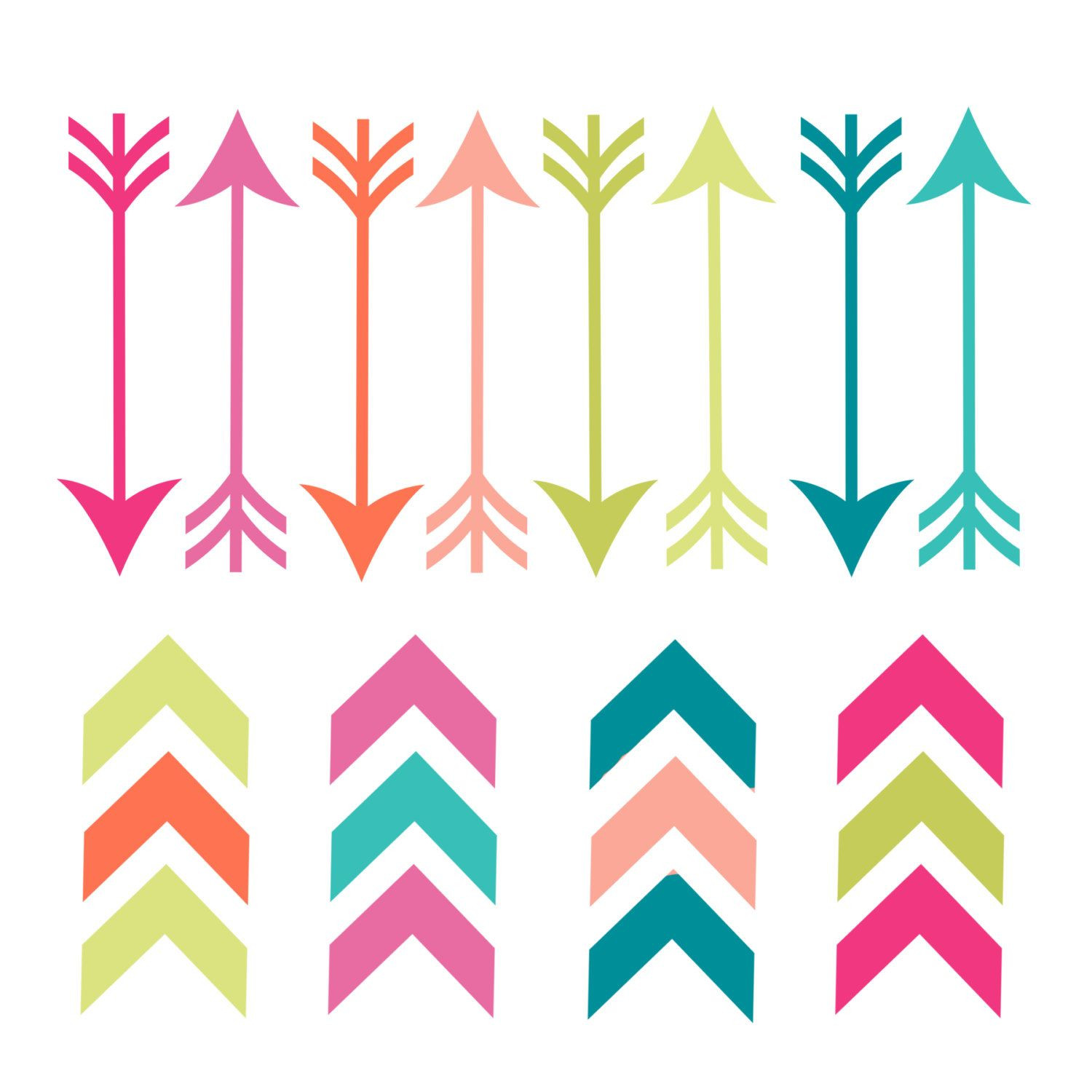 Tribal Arrow Clip Art Group (+), HD Clipart.
