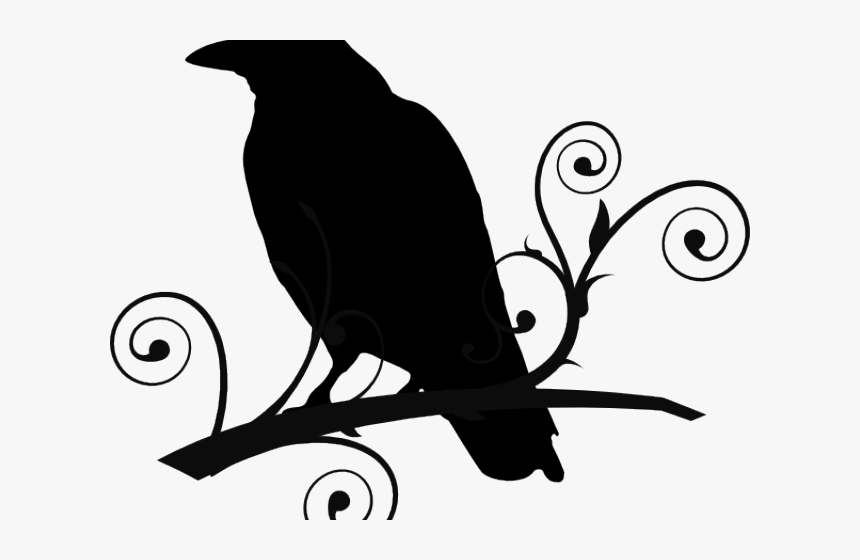Tribal Clipart Raven.