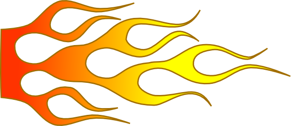 Tribal Flames Clipart.