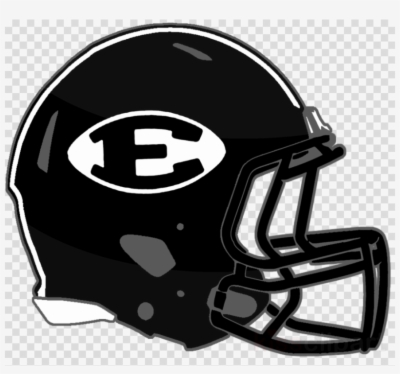Black Football Helmet Png.
