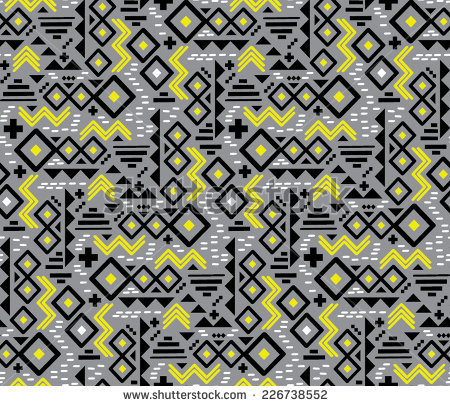 Aztec Print Stock Images, Royalty.