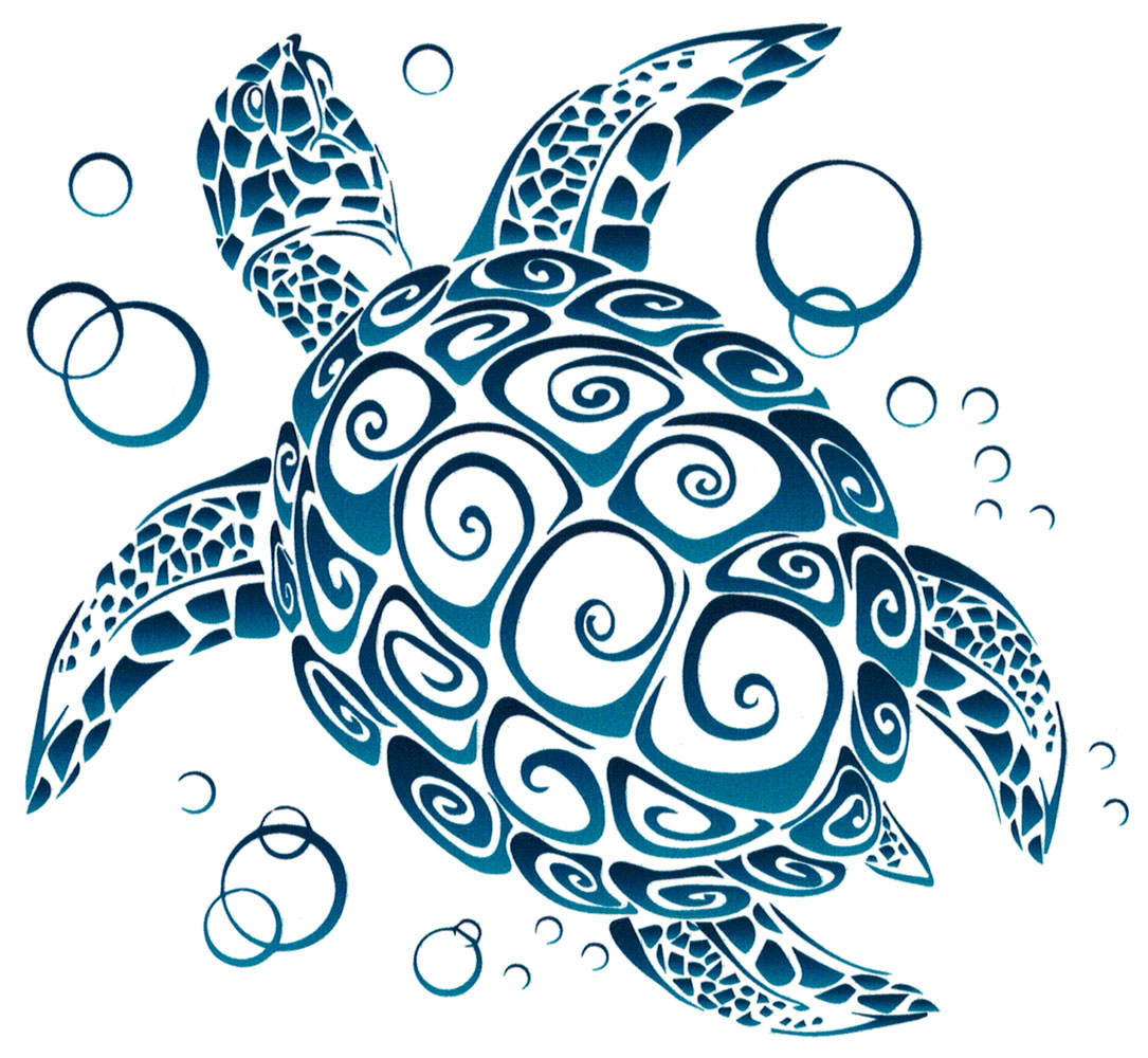 Tribal Sea Turtle.