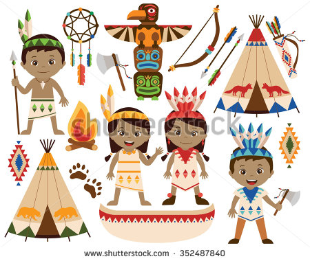 Indian Tribe Clipart.