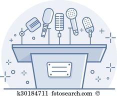 Sound tribune Clip Art EPS Images. 23 sound tribune clipart vector.