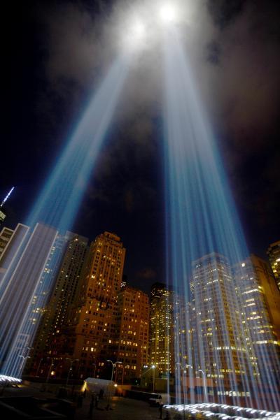 tribute light.
