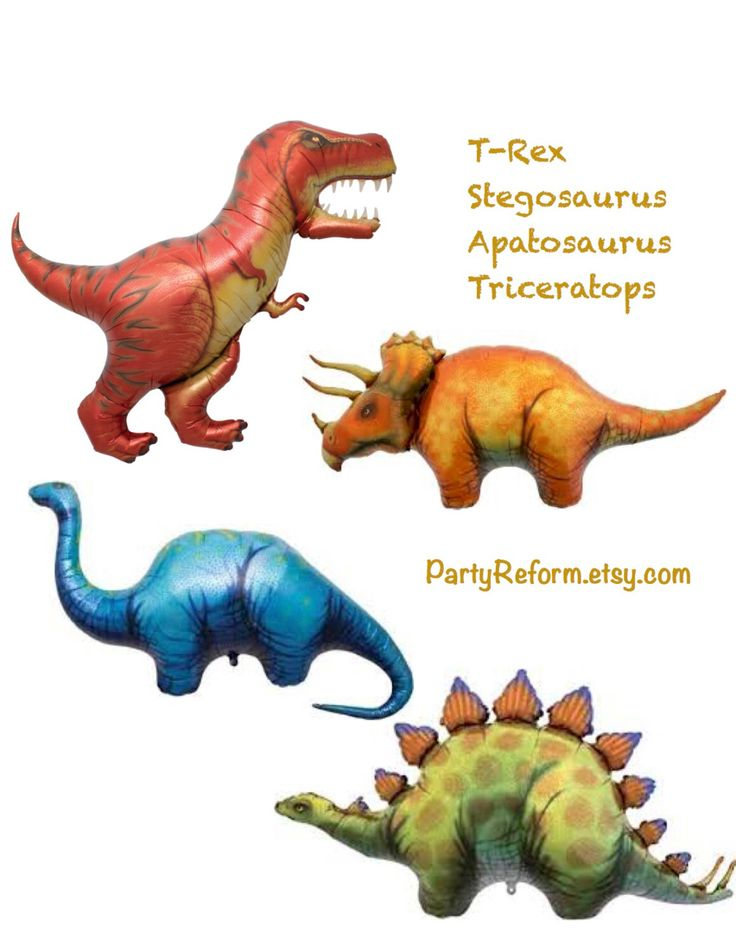 25+ best ideas about Dinosaur Balloons on Pinterest.