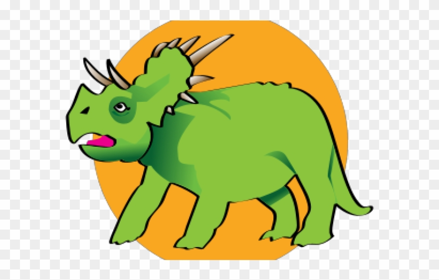 Triceratops Clipart Cute.