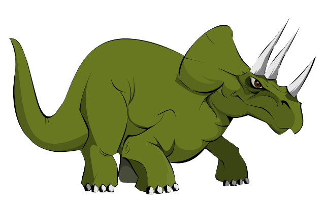 Triceratops clipart 4 » Clipart Station.