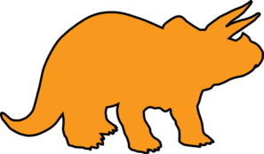 Triceratops Clip Art at Clker.com.
