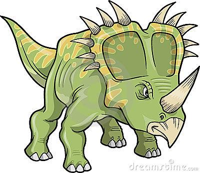 Dinosaur clipart triceratops.