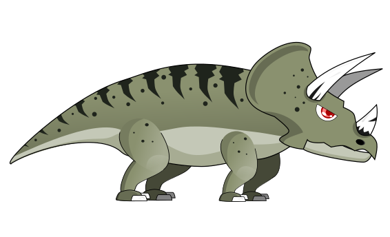 Free to Use & Public Domain Triceratops Clip Art.