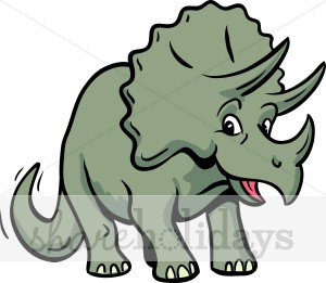 Triceratops Clipart.