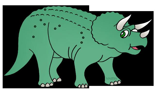 Triceratops clip art.