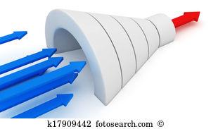 Trichter geformt Stock Illustration und Clip Art. 229 trichter.