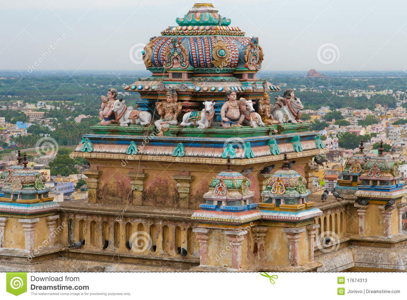 Trichy In Tamil Nadu, India Stock Photos.