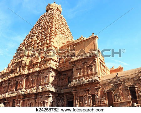 Stock Photo of Sri Ranganathaswamy Temple or Thiruvarangam Tamil.