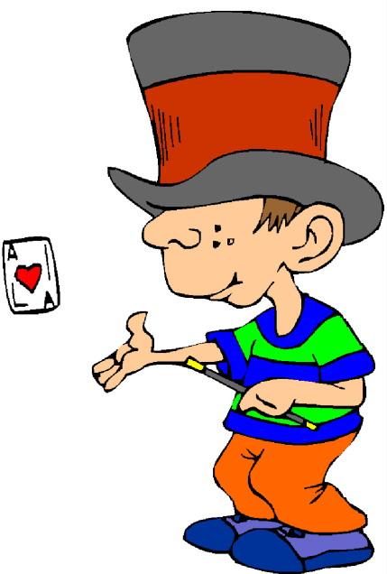 Magic Trick Clipart.