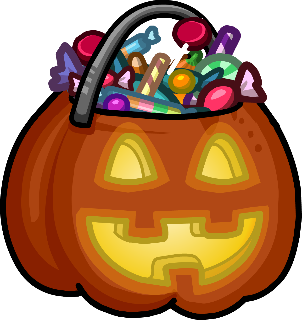 Trick Or Treat Candy Clipart.