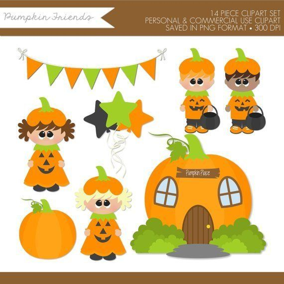 Pumpkin Clipart,Halloween Clipart,Halloween Clip Art,Trick.