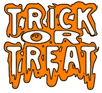 Free Halloween Trick Or Treat Clipart.