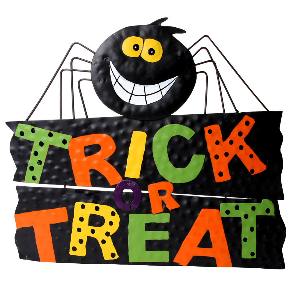 Trick Or Treat Word Clipart.