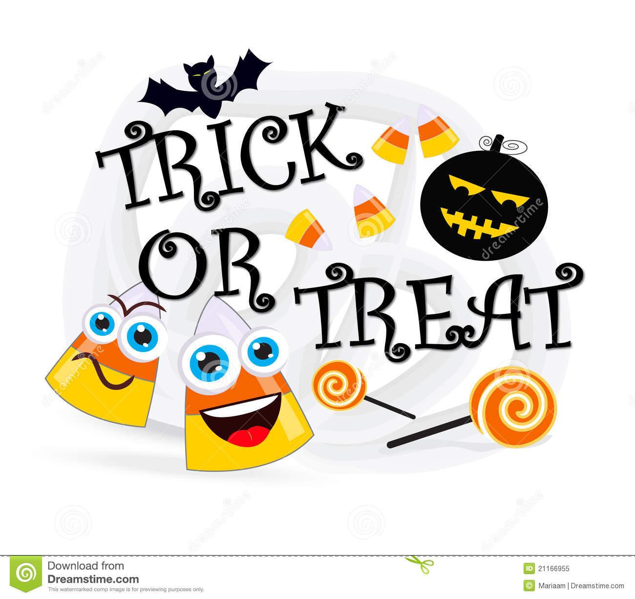 Trick or Treat Word Clipart (66+).