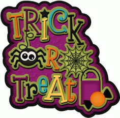 Cute Trick Or Treating Clipart.