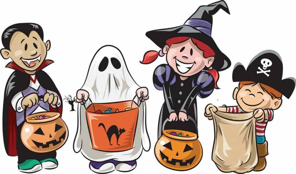 Trick or treaters clipart 4 » Clipart Portal.