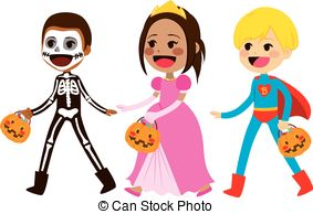 Trick or treat Clip Art and Stock Illustrations. 42,219.