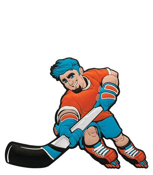 Skates Hockey Dude Trick Shot Sports action figure toy.