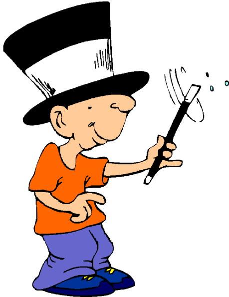 Magic tricks Clip Art.