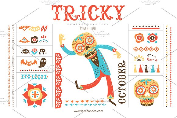 Tricky (Clipart) ~ Illustrations on Creative Market.