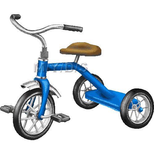 Tricycle, Trike clipart / Free clip art.