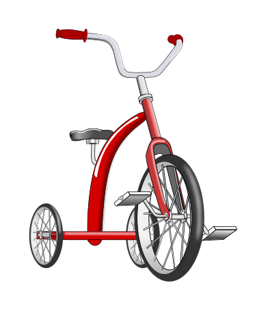 Tricycle Clipart.