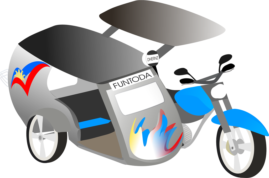 Tricycle Clip Art.