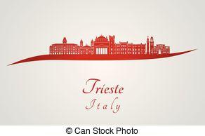 Trieste Vector Clip Art Illustrations. 32 Trieste clipart EPS.